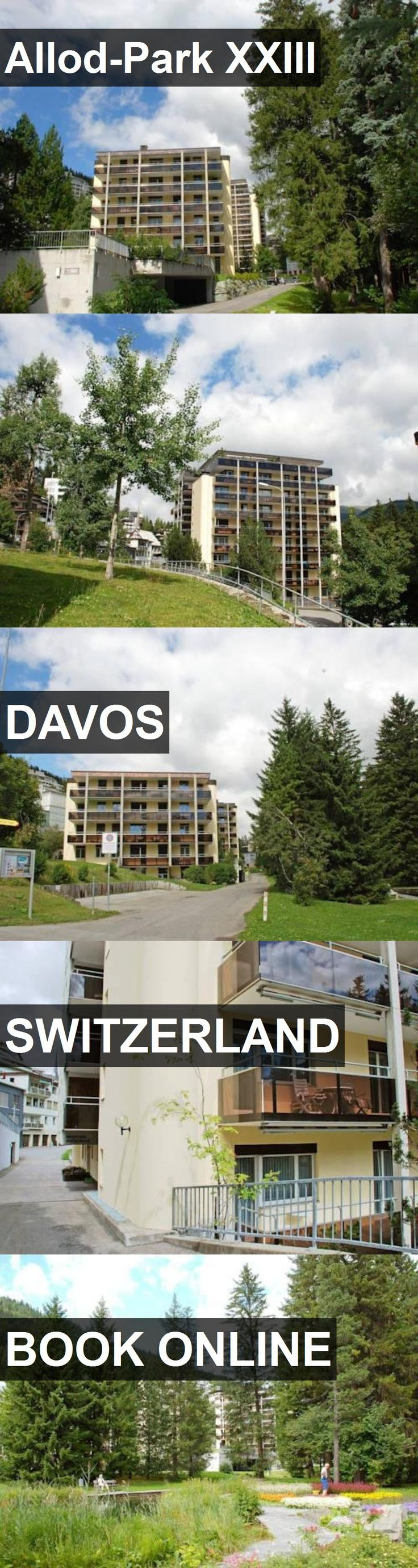 Hotel Allod-Park XXIII in Davos, Switzerland. For more information, photos, reviews and best prices please follow the link. #Switzerland #Davos #Allod-ParkXXIII #hotel #travel #vacation