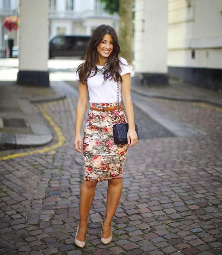 falda tipo lapiz ejecutiva - Buscar con Google