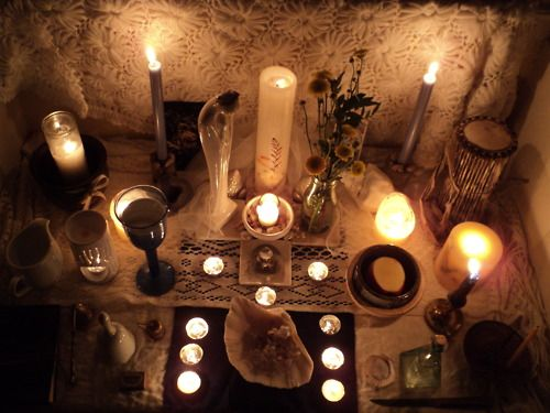 witches altar - Google Search