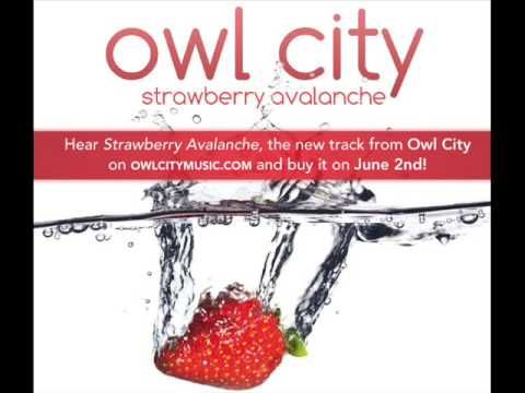 Owl City New Song: Strawberry Avalanche HQ Lyrics