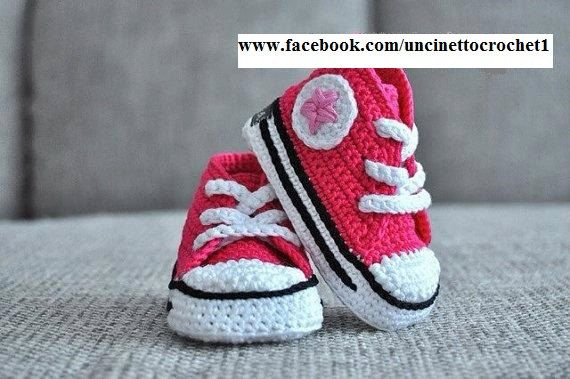 1000+ images about crochet sneakers on Pinterest Crochet ...