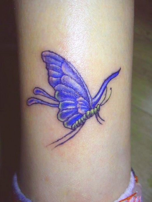 K Butterfly Tattoo 15 best images about M...