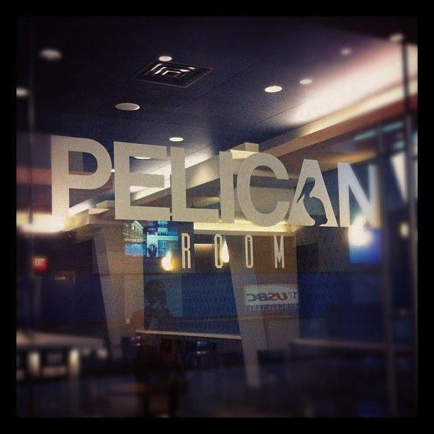New Logo for River Center's Pelican Room
