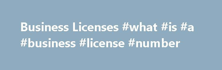 Business Licenses #what #is #a #business #license #number http://malta.nef2.com/business-licenses-what-is-a-business-license-number/  Business Licenses This web page is to confirm that business certificates (licenses) are no longer required for businesses in the unincorporated portions of the County of San Diego. The Board of Supervisors deleted this requirement in August 1998. Communities in the unincorporated portions of San Diego County include, but are not limited to: Alpine, Bonsall…