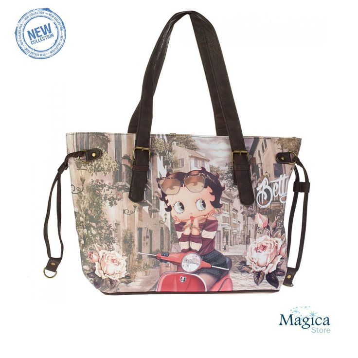Womans Fashion Tote Shopper bag + purse *Betty Boop Town* New | Authentic* #Karactermania #TotesShoppers