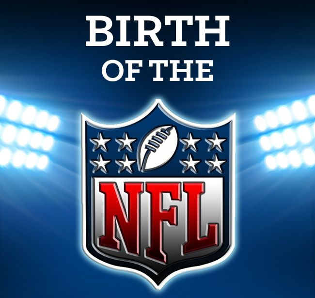The American Professional Football Association was formed in 1920; two years later is changed its name to the National Football League (NFL)