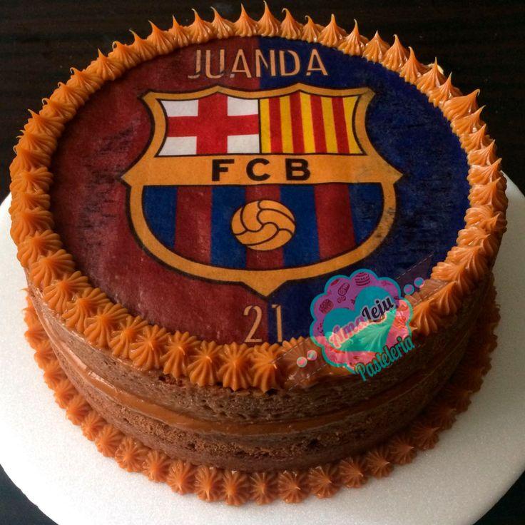 Torta Barcelona Realiza tu pedido por; https://goo.gl/mvYBYv WhatsApp: 3058556189, fijo 8374484  correo info@amaleju.com.co Síguenos en Twitter: @amaleju / Instagram: AmaLeju #fcbarcelona #torta #cake