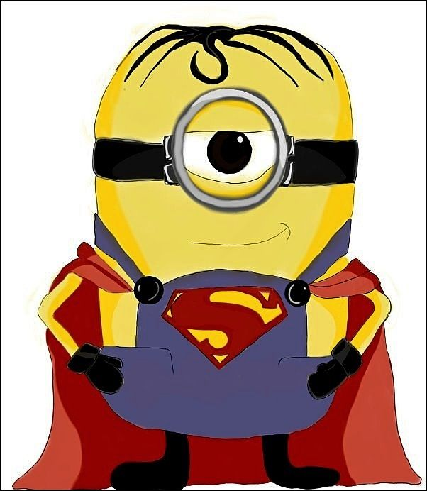 Superman minion drawing | Minion mania | Pinterest ... Despicable Me 2 Minions Drawing