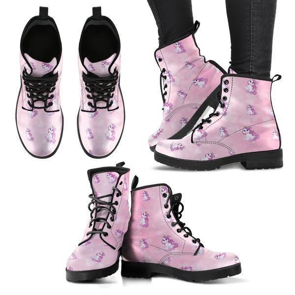 UNICORN DREAM Print BOOTS Ladies Women - Marten Style - Leather Look #MalamuteMania #Boots www.malamutemania.com #unicorn #unicornparty #unicorntribe #unicorns #unicornsquad #docmarten #martens #leatherlook #vegan #ebay #worldwideshipping #pink #women #womensfashion #womenswear #ladies #makebelieve #believe #imaginery #horse #horses