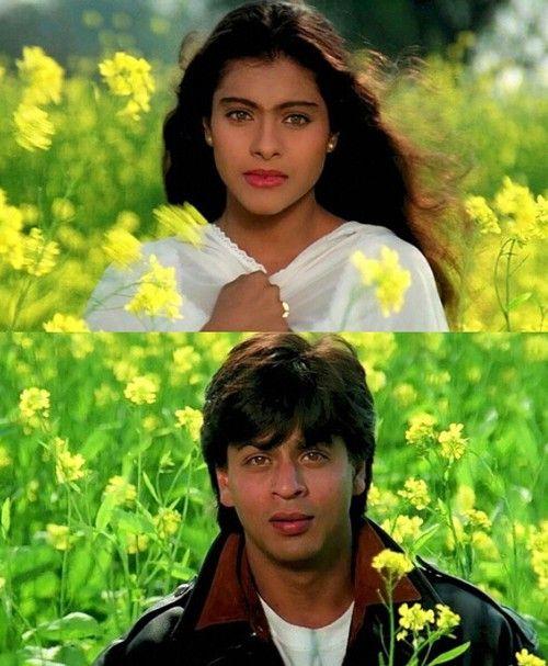 Shah Rukh Khan and Kajol - Dilwale Dulhania Le Jayenge (1995)