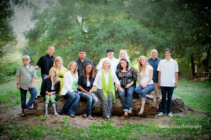 Image detail for -Orange County large family group