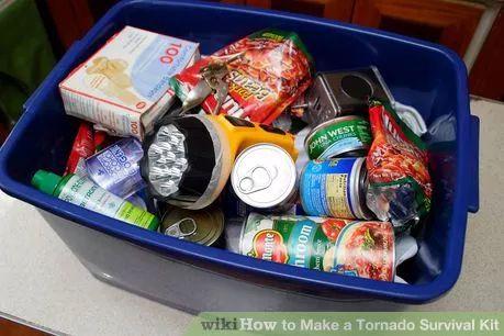 Image titled Make a Tornado Survival Kit Step 2