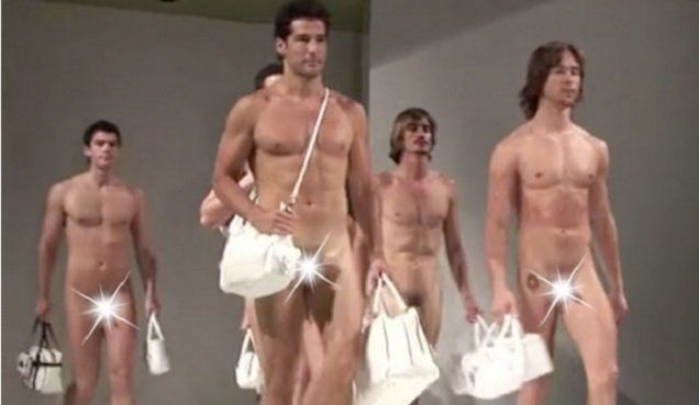 Rejoice Madrid Fashion Show Features Naked Male Models -3968