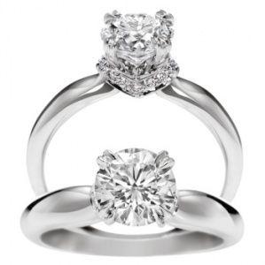 キャリクス・リング - Harry Winston(ハリー・ウィンストン)の婚約指輪
