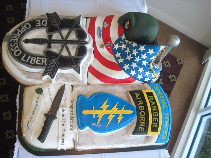 Military Retirement cake- I know its a long way off but ...