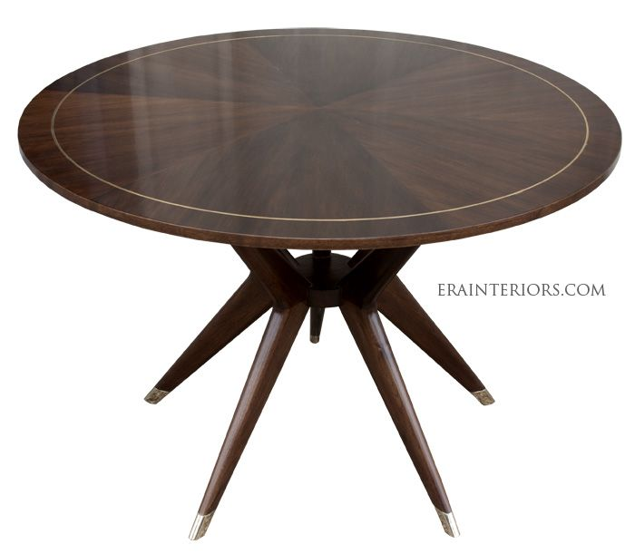 Mid Century Round Dining Table By ERA Interiors