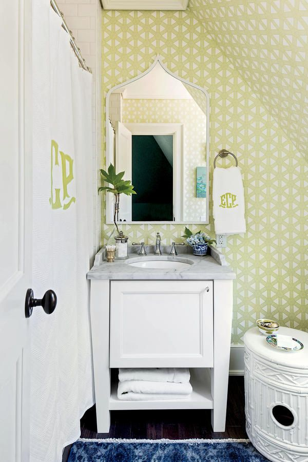 50th Anniversary Idea House  Dillard s Bathroom Designed by Elly Poston. 16 best 2016 Southern Living Idea House images on Pinterest
