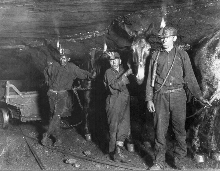 Child coal miners (1908)