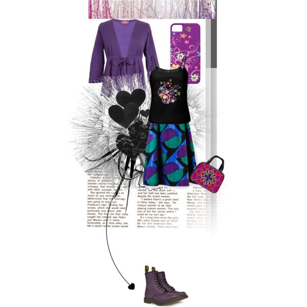 """Purple Groove"" by sarapixelpixie on Polyvore"