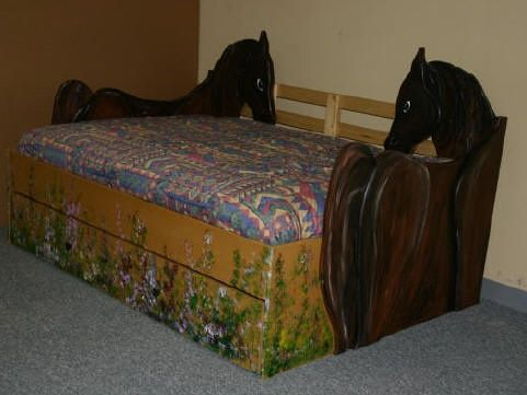 Custom Horse Bed Pictures Pinterest Beds And Horses