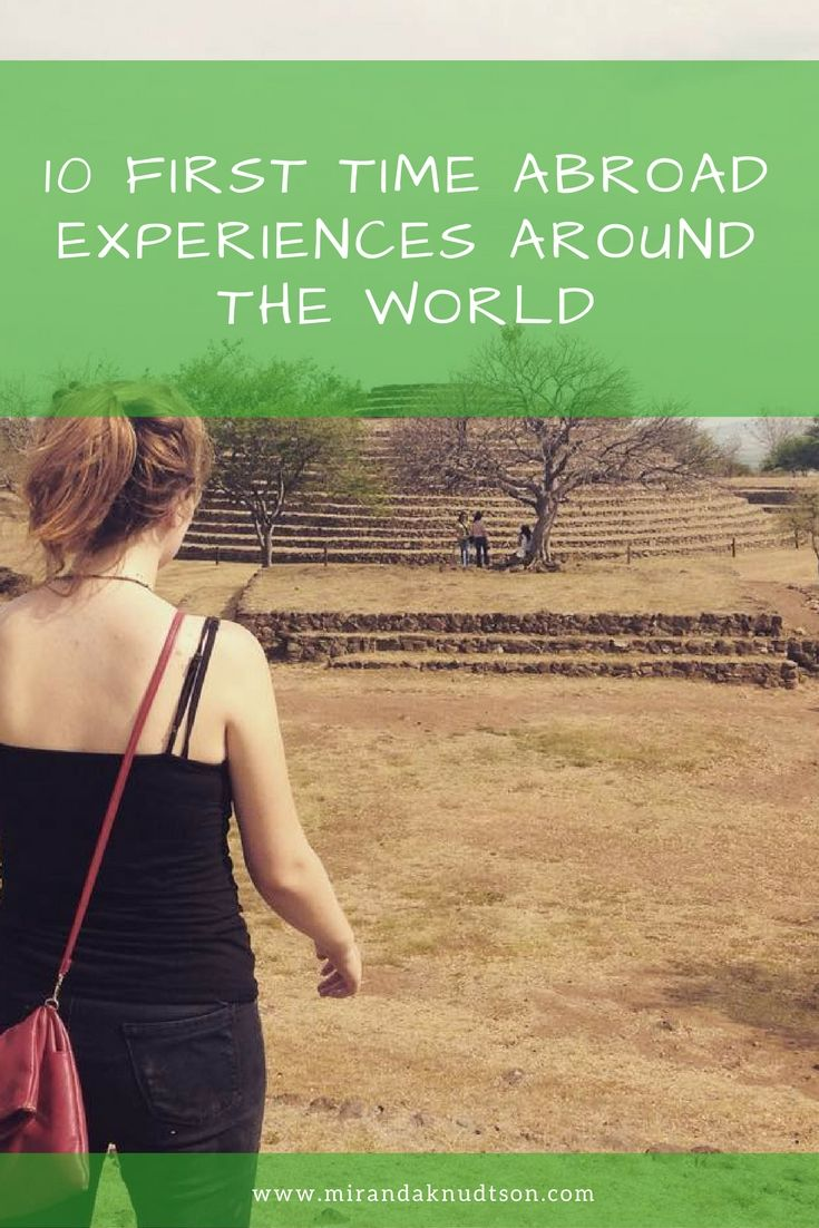 Travelers' experiences when they first traveled abroad outside of their home continent. Take a look at these memorable experiences!
