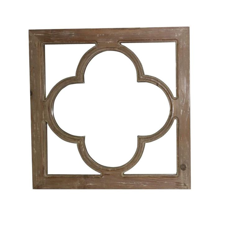18 in. x 18 in. Antique Window Pane Framed Mirror-14B0018 - The Home Depot