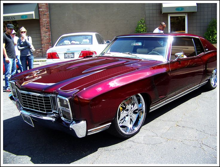 Monte Carlo Custom cars paint, Classic cars muscle