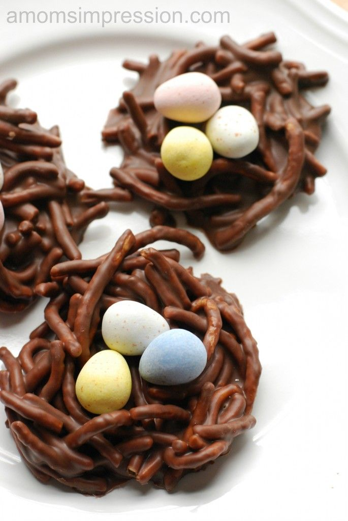 Bird Nest Cookies � Perfect for Easter or an Outdoor Garden Party