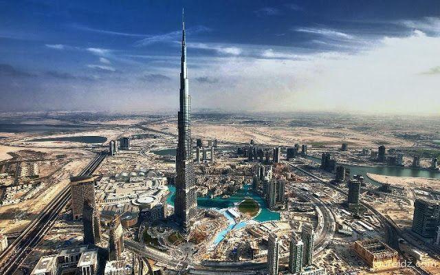 Burj Khalifa in Dubai United Arab Emirates