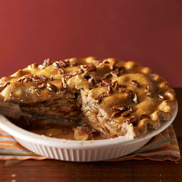 Apple-Pear Praline Pie This crowd-pleaser combines tart apples and ...
