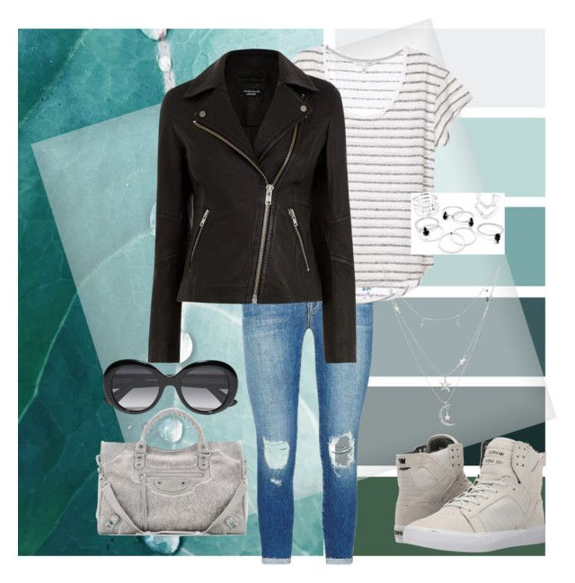 """""""i like simple things"""" by temptedeli on Polyvore featuring J Brand, Warehouse, Supra, Charlotte Russe, Balenciaga and Gucci"""