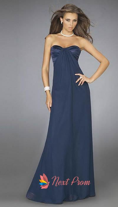 navy blue bridemaids dresses | Long Navy Blue Bridesmaid Dresses, Navy Blue ...