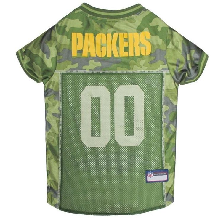 Green Bay Packers Pet Camo Jersey (New!)