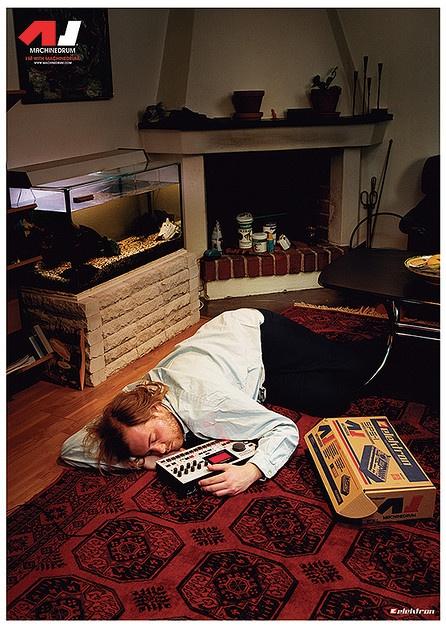 machinedrum poster 2 drum machines drum machine poster electronic music. Black Bedroom Furniture Sets. Home Design Ideas