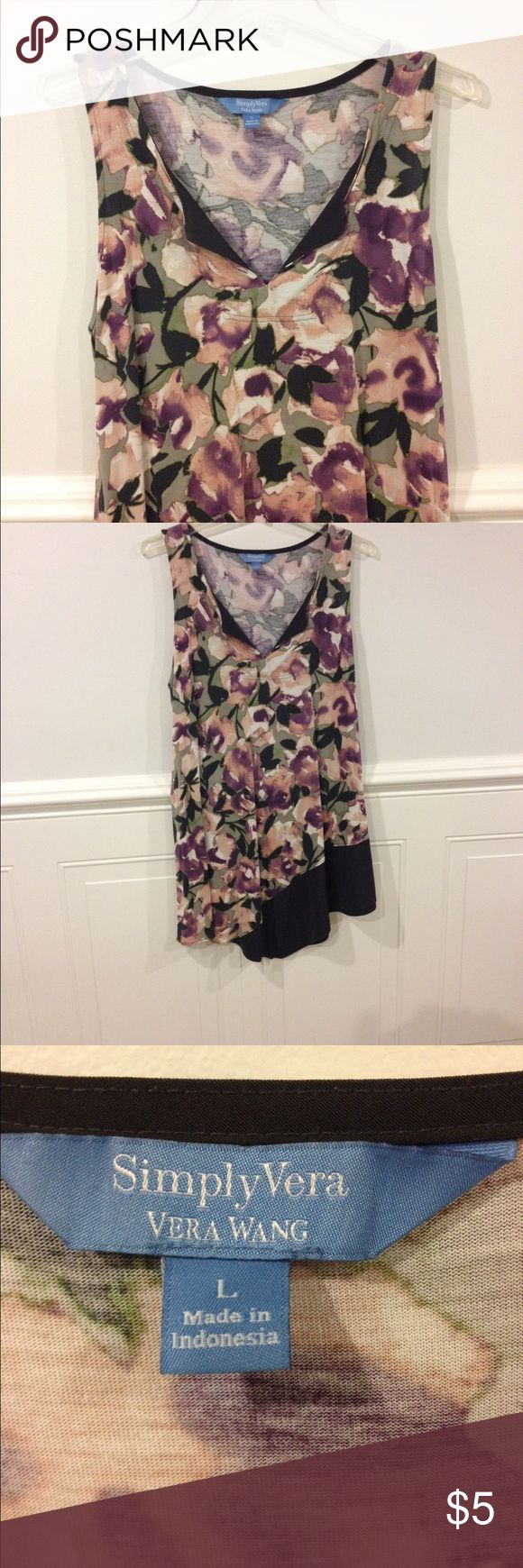 Simply Vera Large dress good condition Size Large Simply Vera dress good condition Simply Vera Vera Wang Dresses