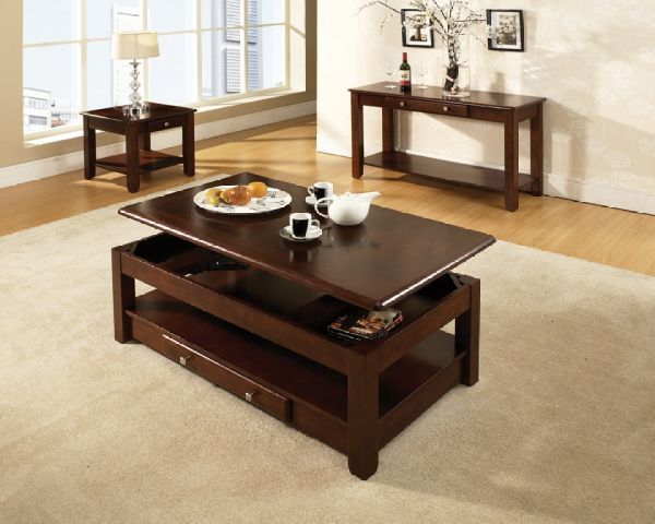 Nelo Cherry Cocktail Table On Sale Today At Muenchens Furniture.