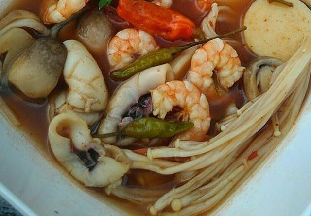 Resep Tom Yam Seafood Dan Jamur Sederhana Makanan Jamur Ikan Bakar