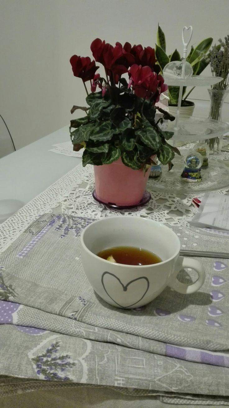 Casina mia! #shabby #tea #flower