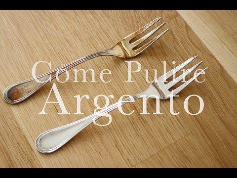 Come Pulire l'ARGENTO in pochi minuti | LOW COST e SENZA SFORZO | CasaSuperStar - YouTube