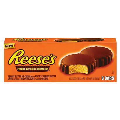 Good Humor Ice Cream Bar | Good Humor Reese's Peanut Butter Cup Ice Cream Bar 6 pack product ...
