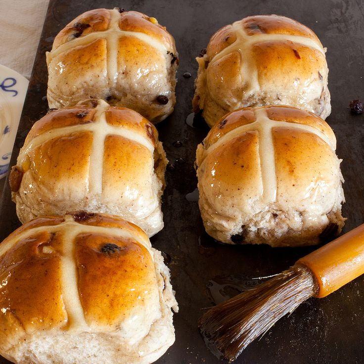 Our hot cross bun recipe. Too good to just eat at Easter,an enriched dough made by our family bakery since the 1920's Enjoy fresh out of the oven or toasted