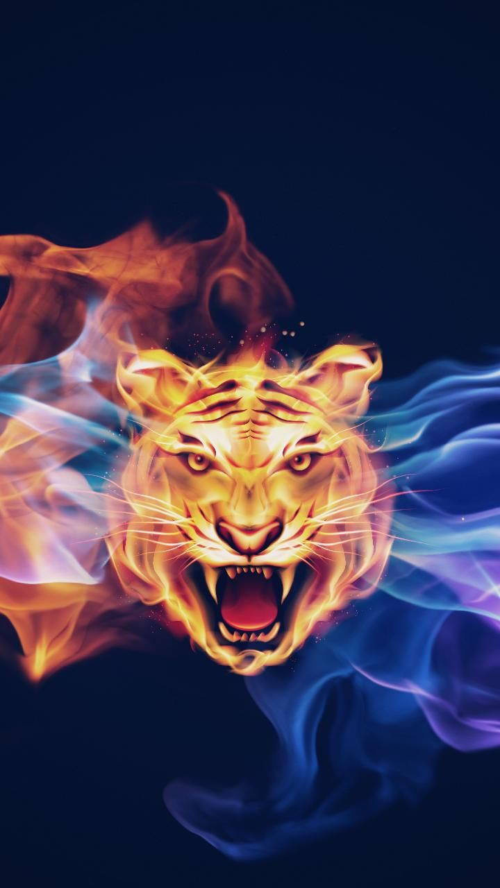 Download Fire Tiger Wallpaper By K A R M A F2 Free On Zedge Now Browse Millions Of Popular Fire Wal Tiger Wallpaper Wild Animal Wallpaper Lion Sculpture