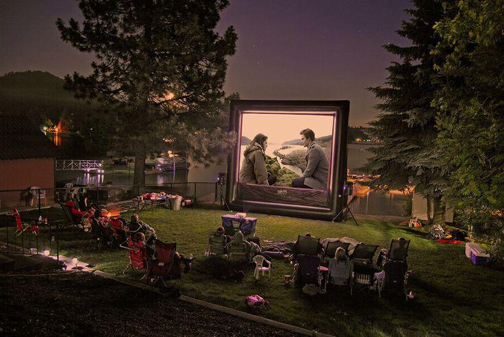 Best 20 Inflatable Movie Screen Rental Ideas On Pinterest