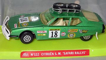 Citroen SM Safari Rallye 1/37 by Guisval, 1979
