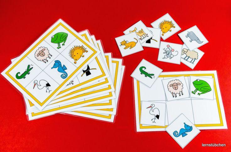 Lernstübchen: Gedächtnisspiel zum Legen