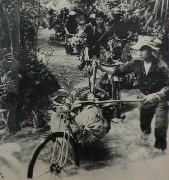 Flooded Ho Chi Minh Trail