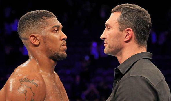 Anthony Joshua v Wladimir Klitschko to be Britain's richest fight of all time