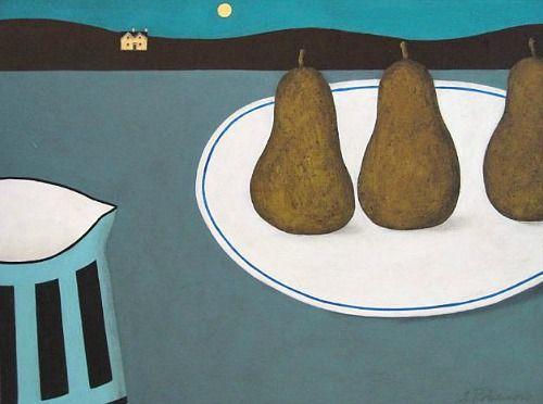 Geoffrey Robinson  Moonlight Pears  2012