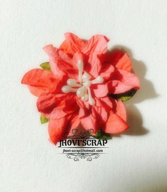 Creando Con Jhovi' Scrap: Paper flowers