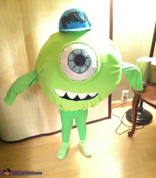 Michael Wazowski - Halloween Costume Contest via @costume_works